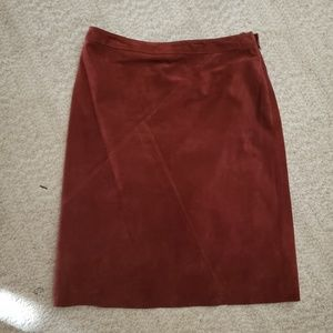 Kate Hill suede skirt size 10p